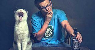 I gatti e il pericolo del fumo passivo