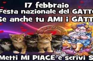Festa del Gatto 2018 in Italia